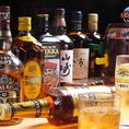 ウィスキーの角瓶、ブラックニッカスペシャル ハーパを ボトルキープしてくれたら1000円引き☆