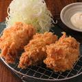 料理メニュー写真広島産かきフライ 3個