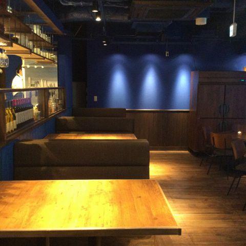 おしゃれな空間で素敵なお時間をお過ごしください☆~dining lounge concept B ~