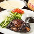 料理メニュー写真鶏もも肉のパリパリ揚げ 北京ダック風