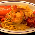 料理メニュー写真活オマール海老のパスタ