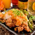 料理メニュー写真若鶏の唐揚げおろしポン酢