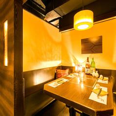 ◆テーブル個室席◆宴会や飲み会は『桜の舞 虎ノ門店』で!ゆったり3時間の飲み放題付コースも◎身も心も楽しんで頂けるよう、ご配慮させて頂きます。