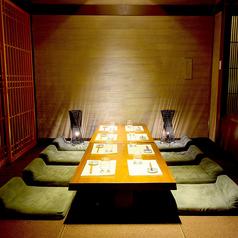 10席×4のテーブル席も♪団体様のご予約も歓迎です。