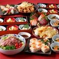 【贅沢コース】歓送迎会におすすめ!お料理8品 3000円(税込)