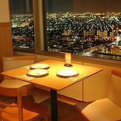 47Fからの眺望を見ながらのお食事は格別です。