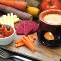 料理メニュー写真オーガニック野菜のバーニャパウダ