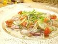 料理メニュー写真お魚のカルパッチョ