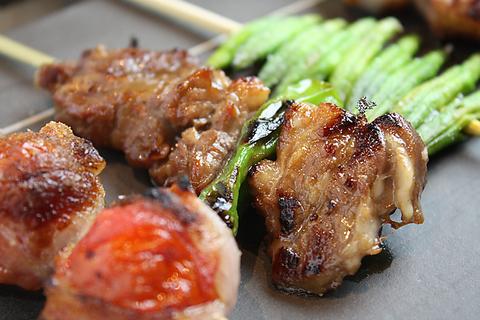 ◆博多もつ鍋&博多串焼き「スペシャルコース」 全7品・2h飲放付 5000円