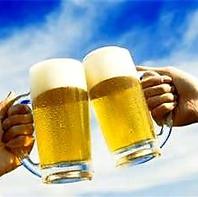≪屋外ビアガーデン≫本格中華と生ビールで乾杯!!大満足