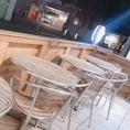 お洒落なティータイムにも、ビールを飲むにもぴったりのテラス席♪静岡パルコの1階なのでショッピングの合間の休憩にもぴったり!
