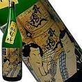 臥龍梅 純米吟醸 浮世絵ラベル 580円/140ml ほのかな含み香が口中に広がり、キレもよい人気の純米吟醸酒です。