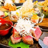 徳島の厳選素材を贅沢に使用したコースがおすすめ。