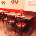 【5名テーブル】少人数のお食事会・飲み会にも是非ご利用ください◆