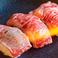 料理メニュー写真炙り肉寿司【一貫】