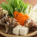 鍋野菜豊富★野菜もたくさんとれて栄養満点なのが嬉しい