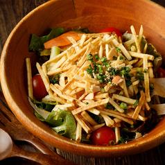 料理メニュー写真満月サラダ