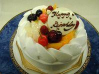 Birthdayケーキご用意