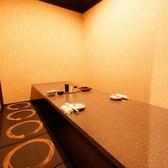 廊下型のフロアに掘りごたつ式の個室を完備!!