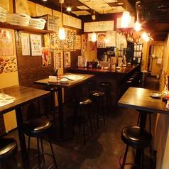 1階にはテーブル席とカウンター席♪お一人様でもお気軽に☆ ≪歓送迎会/飲み放題コース/目黒川/中目黒≫