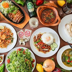 本格タイ料理バル puan 学芸大学店の写真