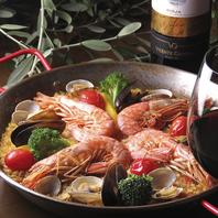 手軽な価格のスペイン料理&スペイン産ワイン各種
