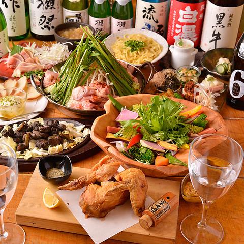【宴会お任せください!】2H+最大25種の日本酒が飲み放題のコースは3980円~♪