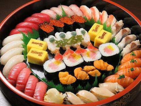 鮮度が自慢の北海道素材を堪能♪テイクアウト可能!本格寿司をご家庭でも!