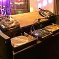 DJブースもあるのでクラブパーティーもできちゃいます★毎週末はイベントもありますのでお気軽にお立ち寄りください!
