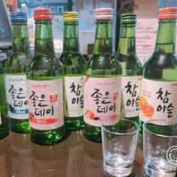 マッコリカクテルなど流行の韓国酒よういしています☆