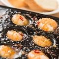 料理メニュー写真<Best2> 海老とキノコ&タコとキノコのアヒージョ