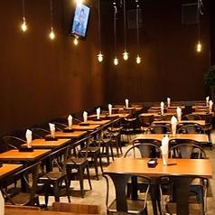 ダイニングエリアの2名テーブルは22卓ご用意しております☆これからの時期の宴会はぜひVASHONでお楽しみください♪