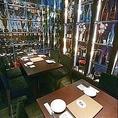 8名様までご利用可能の個室席となっております!焼酎セラーに囲まれた少し不思議なこのお席は様々な焼酎を見ながらお酒が飲めるのでお酒好きのお客様には大変人気のあるお席となっております!詳細については当店までお問い合わせくださいませ。
