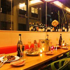 コンパ、PARTYに♪窓際のテーブル席
