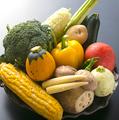 料理メニュー写真旬野菜の鉄板焼き盛り合わせ