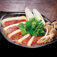 料理メニュー写真合鴨の陶板焼