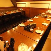 少人数から大人数まで様々なシーンに対応可能なテーブル席♪
