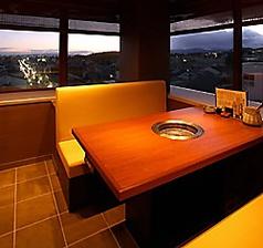 窓からは京都の夜景もお楽しみ下さい
