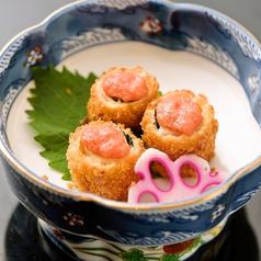 笹身・チーズ揚げ 明太ソース