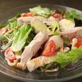料理メニュー写真グリルチキンのマスタード風味サラダ