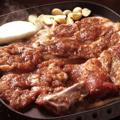 料理メニュー写真豚カルビ/柔らかくてジューシーなお肉です!