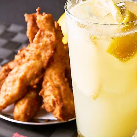 中目黒駅3分高架下のバル♪ 中目黒一美味しいレモンサワーとグリルチキンで乾杯☆