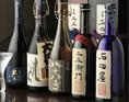 季節酒など希少な地酒多数。お気に入りの一杯を見つけてください。