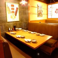 落ち着いた空間でお食事♪会社帰りにリーズナブルで美味しいお料理をお楽しみ下さい