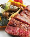 料理メニュー写真特選仙台牛のグリル~季節のお野菜を添えて~