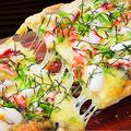 料理メニュー写真海鮮海苔ピザ