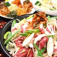 料理も本場韓国の味を再現♪