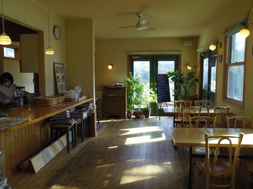 コージーカフェの雰囲気1