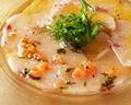 料理メニュー写真季節鮮魚のカルパッチョ