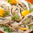 牡蠣とワインと魚と肉と。 元住吉にてのロゴ
